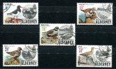 0493 - GB-GUERNSEY-ALDERNEY - Mi. 13-17 Gestempelt, Vögel - Used Set, Birds - Alderney