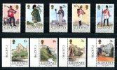 0499 - GB-GUERNSEY-ALDERNEY - Mi. 23-27 Und 28-31 Postfrisch - 2 Complete Mnh Sets - Alderney