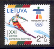4.- LITHUANIA LITUANIE 2010. OLYMPIC AND PARALYMPIC GAMES VANCOUVER 2012 WINTER GAMES - Invierno 2010: Vancouver