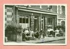 CPSM -  76 - VEULES LES ROSES - CAFE DE LA MARINE - LA TERRASSE / COLLATIONS - Veules Les Roses