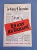 """LE CANARD ENCHAINE - 50 Ans De Canard - Anthologie Du """"Canard Enchainé"""" 1916-1966 - Politique"""