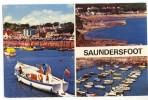 SAUNDERSFOOT. - Vues Multiples - Pays De Galles