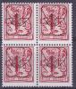 BELGIË - OBP -  1982 (63) - PRE 809 P7 (Blok/Bloc 4) - MNH** - Typo Precancels 1967-85 (New Numerals)