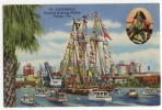 TAMPA. - GASPARILLA -Carnival Entering Harbor - Tampa