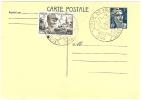 REF LBL10 - EP CP GANDON 5f OBLITERATION TOUR DE FRANCE METZ 1948 - Entiers Postaux