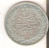 MONEDA DE PLATA DE EGIPTO DE 5 QUIRSH DEL AÑO 1293 (COIN) SILVER-ARGENT - Egipto