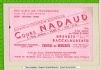 BUVARD    :Cours NADAUD   Chateau Des Bergeries - Stationeries (flat Articles)