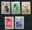 Hungary 1949 Mi 1048-2 MH - Unused Stamps