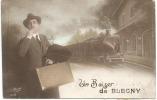 BLEGNY  (4670) Un Baiser - Blégny