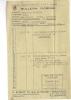 Bulletin  D' Ordre  23/07/1945  -  CHARLEVILLE  - R.  BEZEJAT  Courtier En Cognac  Pour M.  BEAUFILS  à  RETHEL - France