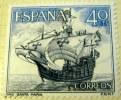 Spain 1964 Spanish Navy Commemorative Santa Maria 40c - Mint - 1931-Aujourd'hui: II. République - ....Juan Carlos I