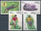 Soccer Football Fussball 2004 Tajikistan #329/32 100 Years FIFA MNH ** - World Cup