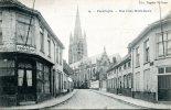 POPERINGE (Poperinghe): Rue Croix Notre-Dame - CPA écrite (1911) En Très Bon état - Poperinge