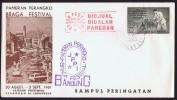 1961  Braga Festival Commemorative Cover - Indonesia
