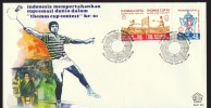 1979  Thomas Cup, Badminton  Unaddressed FDC - Indonesia