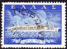 GREECE 1958 Greek Merchant Marine / Ship 1 Dr.  Vl. 741 - Griekenland