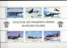 TAAF 2012. Airplanes. Bloc. MNH(**) - Blocs-feuillets