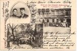 VIENNE / WIEN - Gruss Aus Karl Skopek's Restauration +++ Ujvidek (Novi Sad), Serbie, 1902 +++++ Ch. Meyer,Wien, #13259 - Wien