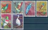 Komoren 1978 Vögel Mi.-Nr. 377 - 382 O - Komoren (1975-...)