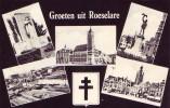 ROESELARE = Groeten Uit R..... - Carte 5 Vues  (Nels) Vierge - Roeselare