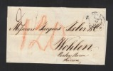 Lettera Firenze Wohlen Svizzera 1858 - Italia