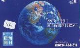 Télécarte Japon MAP * Carte Du Monde * GLOBE (461) Géographie * Mappemonde * Japan Phonecard * Telefonkarte * AARDBOL - Espacio