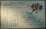 Carte En Franchise - Correspondance Des Armées De La République - Militari