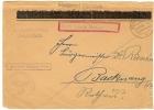 REF LBL10 - FRANCE MAIRIE DE SELESTAT CAVIARDEE PAR LES AUTORITES ALLEMANDES SUR LETTRE CENSUREE 28/10/1940 - Alsace-Lorraine
