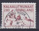Greenland 1986 Mi. 167    2.80 Kr Kunst (VII) Leben In Thule-Bezirk Collage Von Aninaaq Deluxe NUUK Cancel !! - Groenlandia