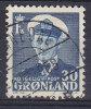 Greenland 1950 Mi. 33      30 Ø King König Frederik IX. - Used Stamps