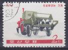 North Korea 1974 Mi. 1234     2 Ch Landwirtschaftliche Maschinen Stallmiststreuer - Corea Del Nord