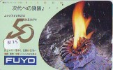 Telecarte Japon Coquillage (1025) Sea Shell * JAPAN * Muschel Seashell Muszle  FOSSILE * FOSSIL * Conchiglia - Télécartes