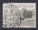 Greenland 1969 Mi. 83    25.00 Kr Grönlands Tierwald Moschusochse (Cz. Slania) - Greenland