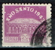 España, 1943, Año Santo Compostelano, 20c,  3 Serie, - 1931-Today: 2nd Rep - ... Juan Carlos I