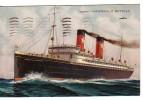 Italia Nave Ammiraglio Bettolo.Collegamenti Per Americhe Catania 22.11.42 - Italia