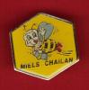 22786-pin's Abeille.apiculture.miel Chaillan. - Tiere