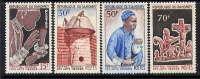 DAHOMEY.  - N° 235//238** - FESTIVAL DES ARTS NEGRES - Benin - Dahomey (1960-...)