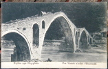 Albania, Kujtim Nga Shqypenia, Ura Vezirit N'udhe T'Pezrendit, Stone Bridge, Ottoman Empire, Balkan Marubbi - Albanie