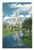 Cp, Etats-Unis, W. Disny World, Fairy-Tale Castle, Voyagée 1987 - Orlando