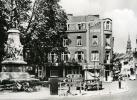 REAL PHOTO POSTCARD HOTEL SCHREURS HASSELT BELGIQUE BELGIUM CARTE POSTALE MOTORCYCLE - Hasselt