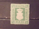 Germany Mecklenburg Strelitz Stamp #2 Mint OG HR VF Small Thin - Mecklenburg-Strelitz