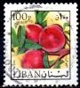 LEBANON 1973 Air - 100p. - Peaches   FU - Libanon