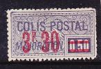 FRANCE COLIS POSTAUX N°46 3.30 S 50C VIOLET FONCE  TYPE DE 1918/1920 SURCHARGES OBL - Paquetes Postales