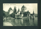 SWITZERLAND  -  1913  Thun - Schloss Oberhofen  Used Postcard As Scans - BE Berne