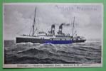Ansichtskarte Vlissingen Schiff Mailboot S.M. Zeeland Harwich Parkeston Ca.1934 Stempel Oranje Nassau. - Passagiersschepen