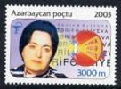AZERBAIJAN 2003 Zarifa Alijeva MNH / ** - Azerbaïjan