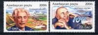 AZERBAIJAN 2006 Writers  MNH / ** - Azerbaïjan