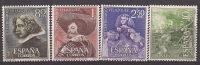 ES1340-L19931TARSC-.España. Spain.Espagne.pintor  Velazquez.1961.( Ed 1340/3**),sin Charnela.Muy Bonito - Sin Clasificación