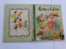 MARTINE A LA FERME  - RARE EDITION ORIGINALE 1954 - MARLIER - Martine