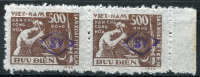 NORTH VIETNAM - Overprint SV (probably South Vietnam) On Sc.5 (Mi.8) Not Described, Pair MNG - Vietnam